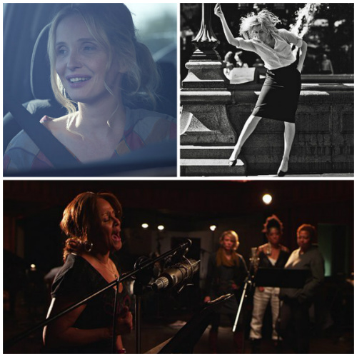 Delpy in Before Midnight, Gerwig in Frances Ha, Darlene Love in 20 Feet from Stardom