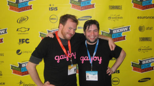 Clay Liford and Jonathan Lisecki of Gayby