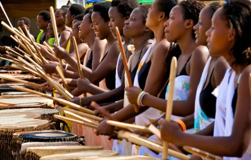 Drummers of Ingoma Nshya in Sweet Dreams