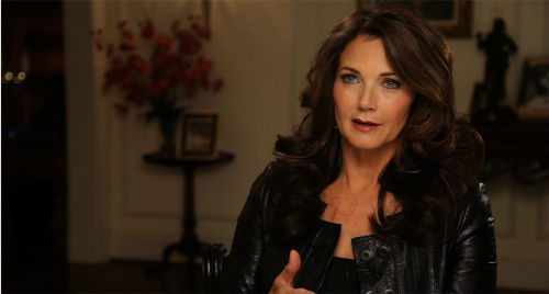 Lynda Carter in Wonder Women: The Untold Story of American Superheroines