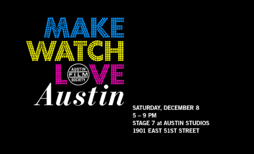 Make Watch Love Austin party graphic