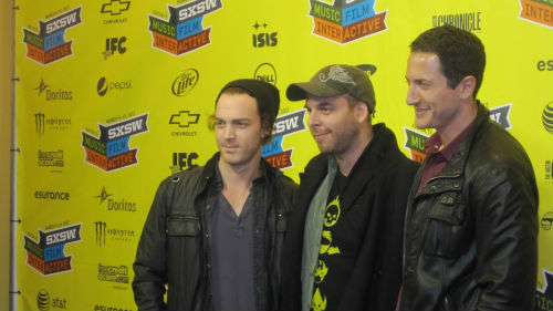 Dominic Bogart, Nir Paniry, Sasha Roiz at SXSW 2012 for Extracted premiere