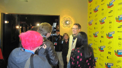 Matthew Lillard  at SXSW 2012 for Fat Kid Rules the World