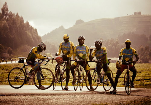 Team Rwanda in Rising From Ashes