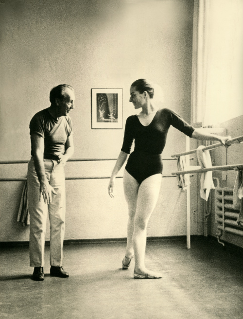 George Balanchine and Tanaquil Le Clercq, from Afternoon of a Faun