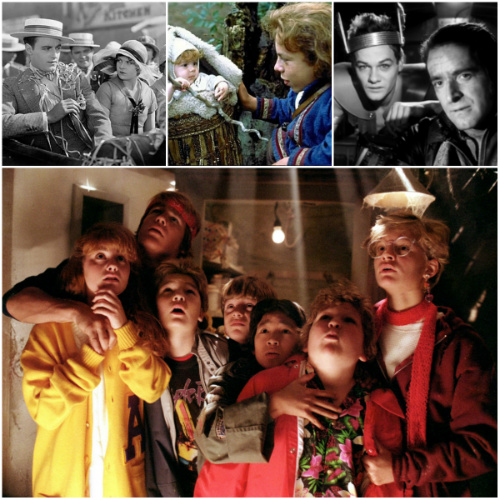 Stills from Lonesome, Willow, The American Astronaut & The Goonies