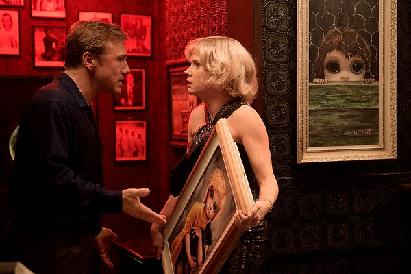 Cristoph Waltz and Amy Adams in Big Eyes