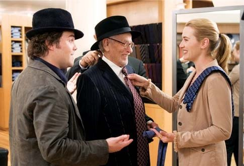 Jack Black, Eli Wallach and Kate Winslet in The Holiday