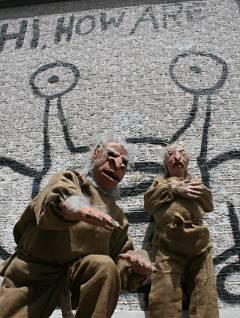 Celebrity sightings slackerwood for Austin frog mural