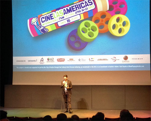 Cine Las Americas screen