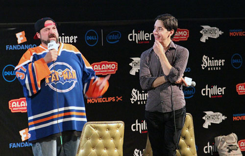 Kevin Smith and Justin Long
