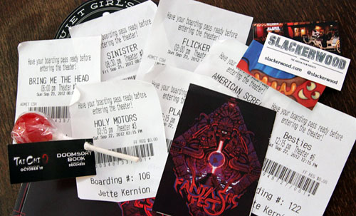 Fantastic Fest 2012 tickets