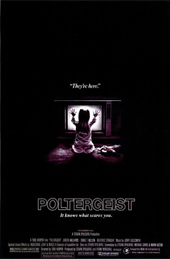 Poltergeist poster from 1982