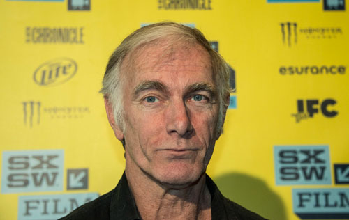 John Sayles on Go for Sisters red carpet at SXSW