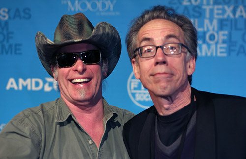 Ted Nugent and John Pierson