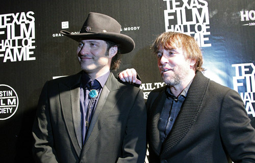 Robert Rodriguez and Richard Linklater