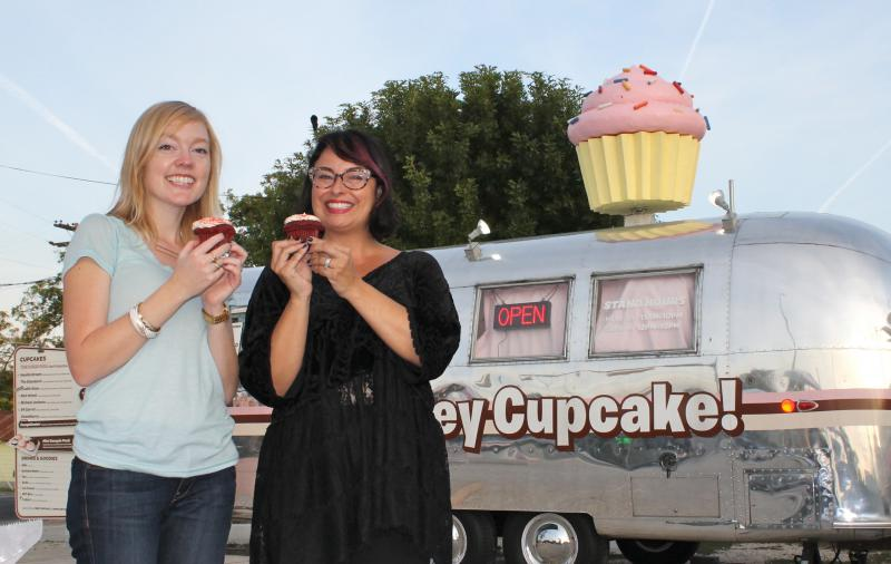 Forever Fest founders at Hey Cupcake