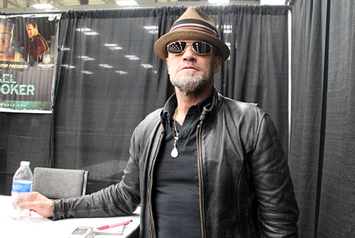 Michael Rooker at Austin Comic Con