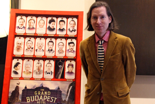 Wes Anderson of Grand Budapest Hotel