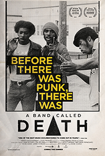 A Band Called Death One Sheet