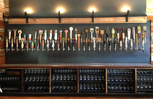 Craft Pride Tap Wall