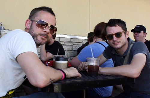 Dominic Monaghan and Elijah Woods, all rights reserved