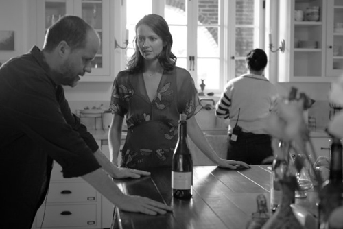 Much Ado About Nothing Director Joss Whedon with Amy Acker