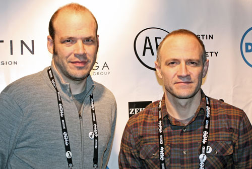 Nathan and David Zellner at Sundance