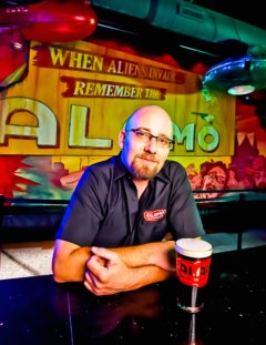 Beverage Director Bill Norris of Alamo Drafthouse