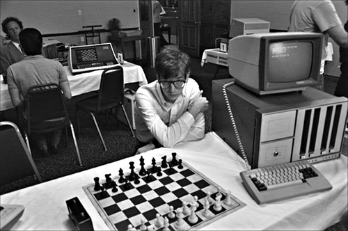 Cpmputer Chess Still Photo