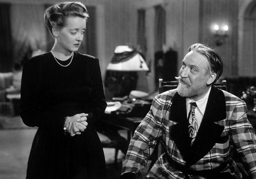 Bette Davis and Monty Woolley in The Man Who Came to Dinner