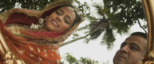 Shahana Goswami and Ronit Roy in Midnight's Children