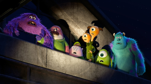 The brothers of Oozma Kappa in Monsters University