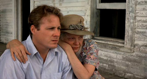 John Heard and Geraldine Page in The Trip to Bountiful