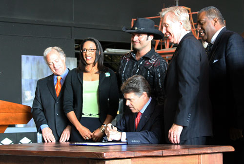 Film incentive bill signing