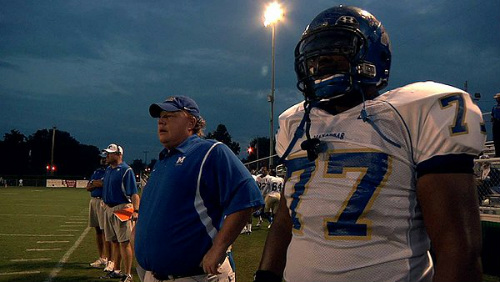 Coach Bill Courtney and player O.C. Brown in Undefeated