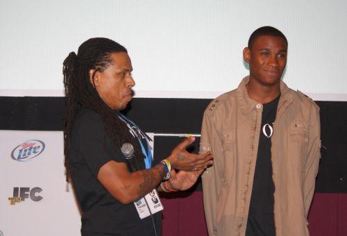 Writer/Director Ya'Ke Smith and star Jordan Cooper